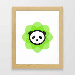 the atomik panda Framed Art Print