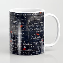 """I love you"" Wall Coffee Mug"