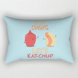 Good Old Friends Rectangular Pillow