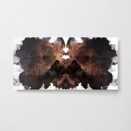 Test de Rorschach III Metal Print
