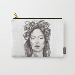 Actress Monica Bellucci - Editorial Carry-All Pouch