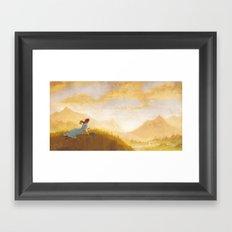 Great Big Somewhere Framed Art Print