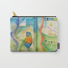 Song for Rainbow Parrot Carry-All Pouch