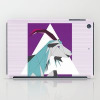 goat iPad Cases featuring Goat by Sudário