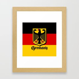 Germany Ueber Alles Country Symbol Framed Art Print