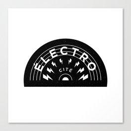 Électro-Cité 2 Canvas Print