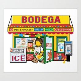 Bodega Art Print