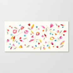 Flower Net Canvas Print
