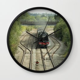 Royal Scot at Tiverton Junction Wall Clock