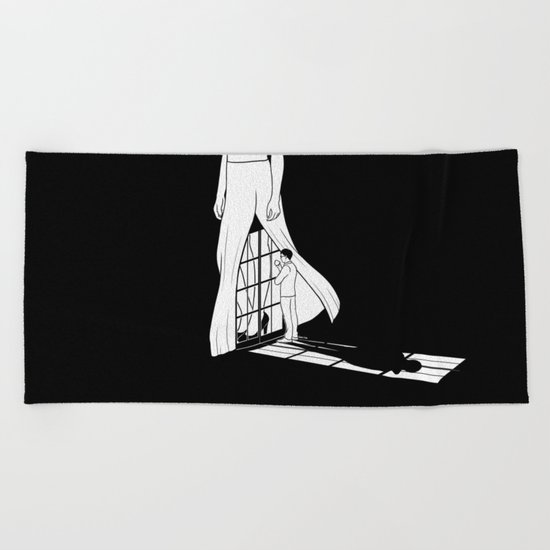 Vision of you Beach Towel
