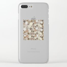 Gear - Gear Steampunk Clear iPhone Case