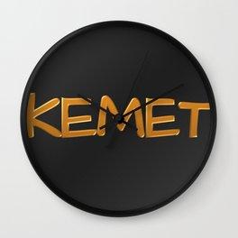 Kemet 1 Wall Clock