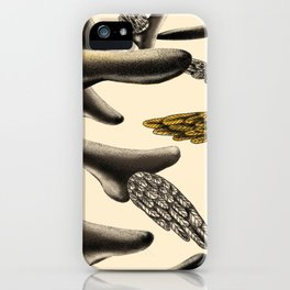 Flying noses iPhone Case
