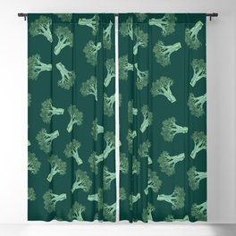 Broccoli color Blackout Curtain