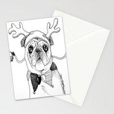 Jingle Pug Stationery Cards