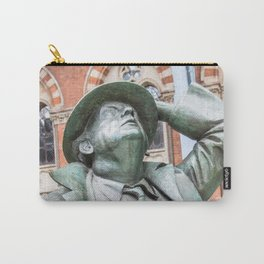 Statue Man Station Carry-All Pouch