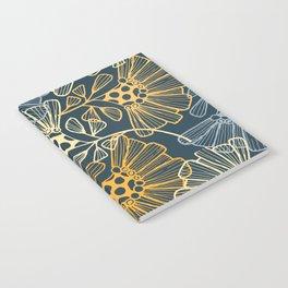 Hawaiian Garden Party - Tropical Flowers Notebook