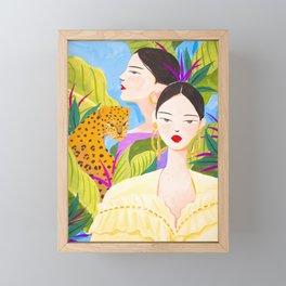 Garden Day Framed Mini Art Print