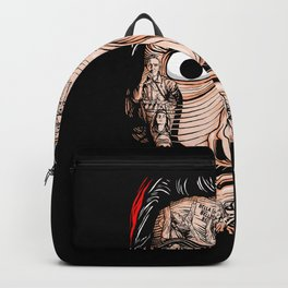 la casa dwe papel Backpack