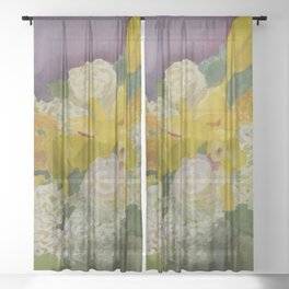 Central Park Ceterpiece Sheer Curtain