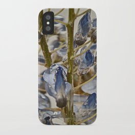iced wisteria iPhone Case