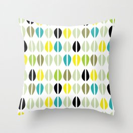 Cowrie Dots-Multi Throw Pillow