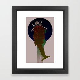 Horoscope: Capricorn Framed Art Print