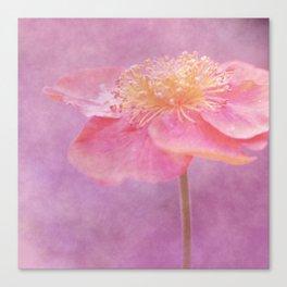 Romantic Flower Canvas Print