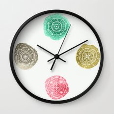 Crafty Stains Wall Clock