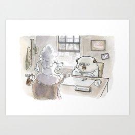 Fetch Ketchum: Dames Art Print