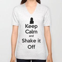 Shake It Off Unisex V-Neck