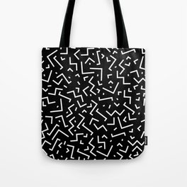 Memphis pattern 31 Tote Bag