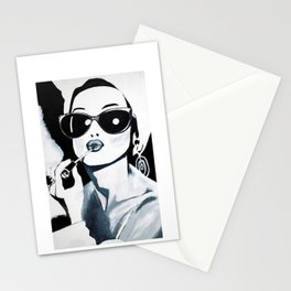 Sunglasses & Lipgloss Stationery Cards