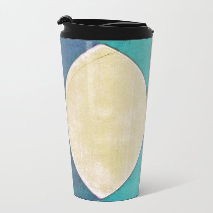 Waxing Crescent Metal Travel Mug