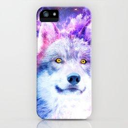 Cosmic Wolf iPhone Case