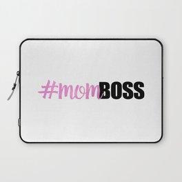 #momboss   Mom Boss Laptop Sleeve