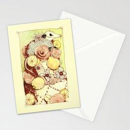 Cake Opossum Stationery Cards