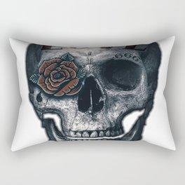 Love Skull Rectangular Pillow