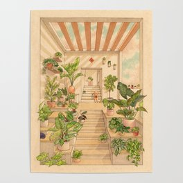 Houseplants Poster