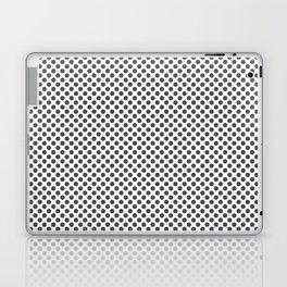 Dark Shadow Polka Dots Laptop & iPad Skin
