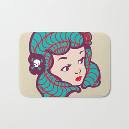 Girl Power Dynamite Laser Beam Bath Mat