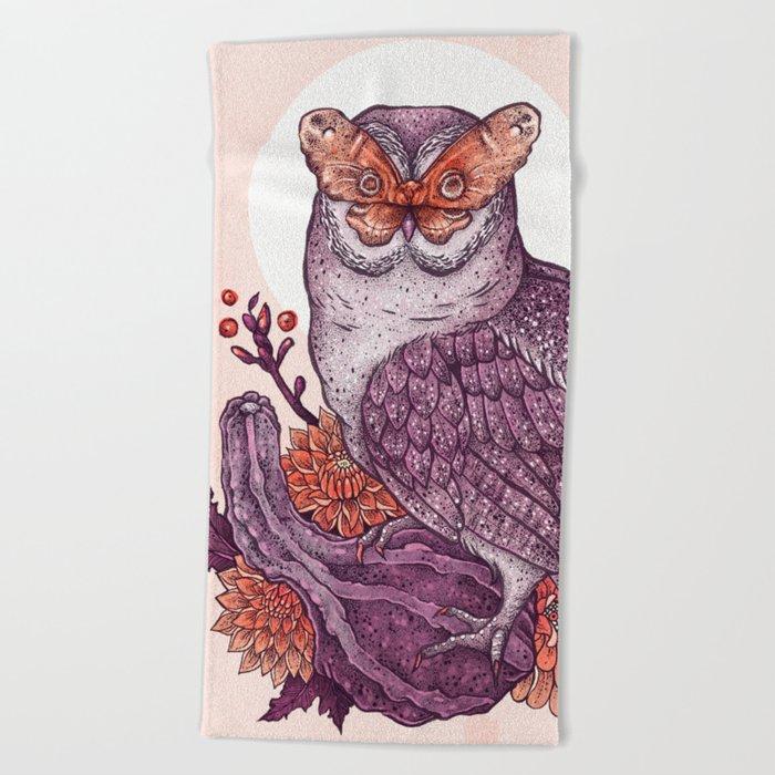 Autumnal Equinox Beach Towel