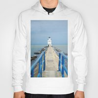 lighthouse Hoodies featuring Lighthouse by MelissaLaDouxPhoto