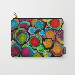 Conscious Overlap (Alcohol Inks Series 03) Carry-All Pouch