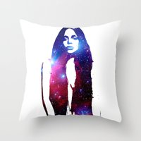 artpop Throw Pillows featuring ARTPOP by Devon Jack