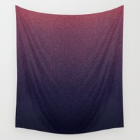 cancer Wall Tapestries featuring STARDUST / cancer by DANIEL COULMANN