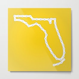 Florida: United Chains of America Metal Print
