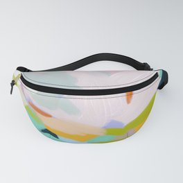 abstract summer hills Fanny Pack