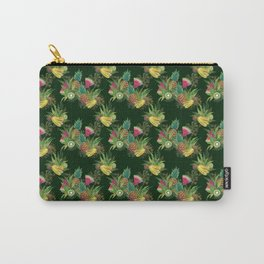 Fruits Basket 1 -  Forest Green Carry-All Pouch
