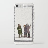 nori iPhone & iPod Cases featuring Hair Care by wolfanita
